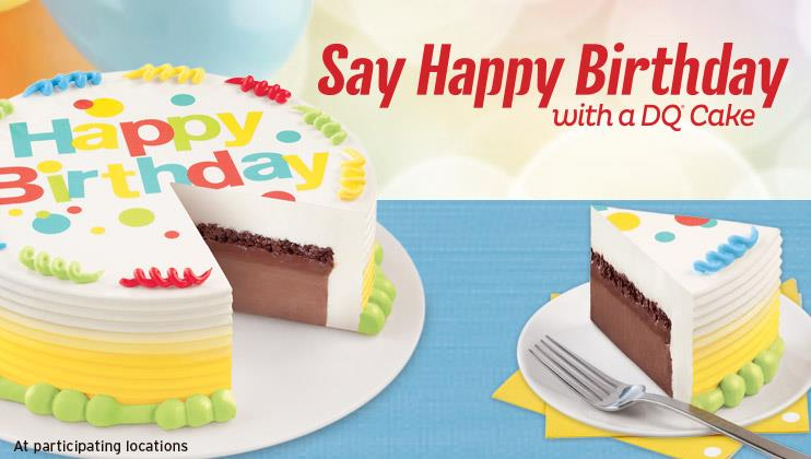 Ice Cream Cakes Dq Price