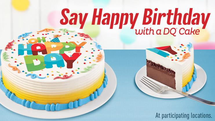 Dairy Queen Ice Cream Birthday Cakes